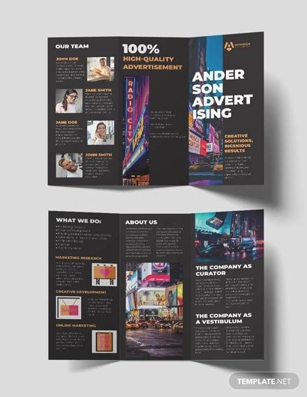 advertising brochures templates ai psd pages