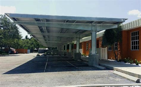 Sflex  Pv Mounting Systems  Carport Structures