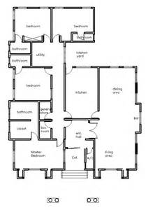 build a house plan house plans holla 4 bedroom house plan in
