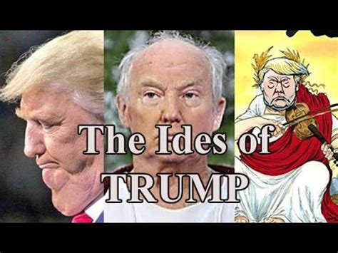 ides of trump postcard the ides of