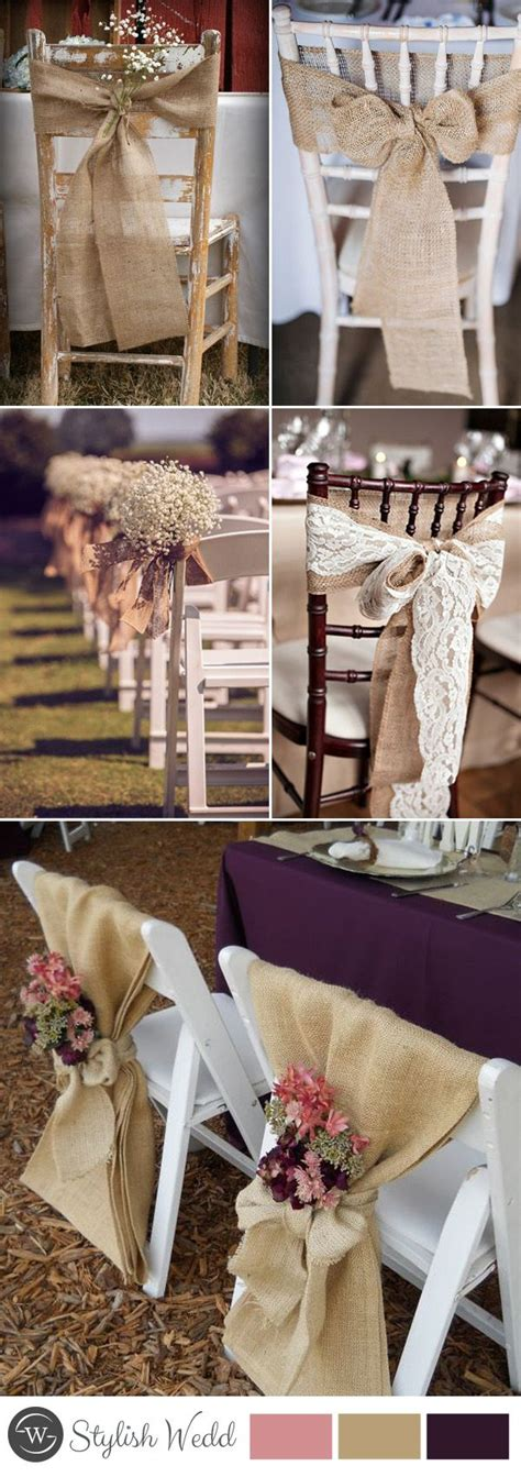 50+ Great Ways to Decorate Your Weddding Chair Wedding