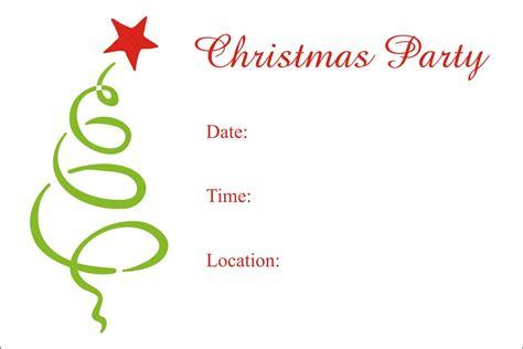 christmas party  printable holiday invitation