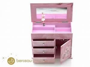 Boite A Bijoux Grande : grande bo te bijoux musicale tiroirs ballerine rose ~ Teatrodelosmanantiales.com Idées de Décoration