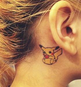 31 Unique Ear Tattoos Design And Ideas