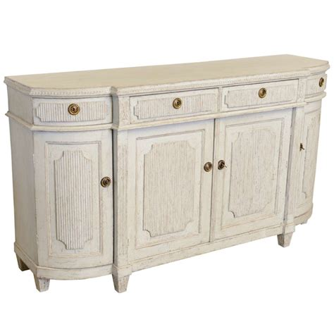 Gustavian Sideboard by Antique Swedish Gustavian Painted Larges Sideboard At 1stdibs