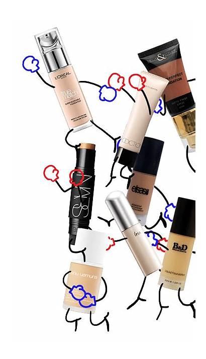 Makeup Shades Cool Beauty Diversity