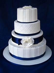 Dark Blue And White Wedding Cake Wedding Ideas for you