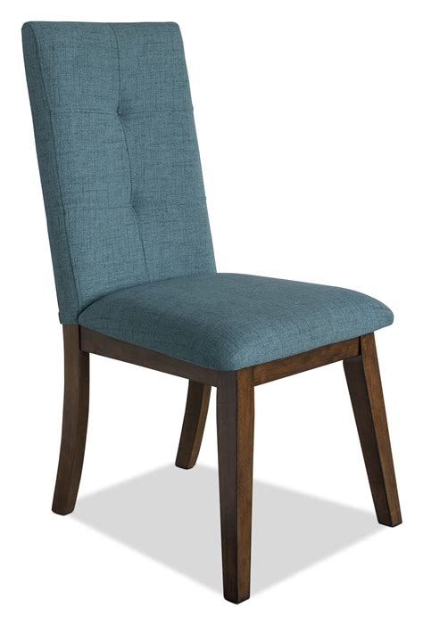chelsea fabric dining chair aqua  brick
