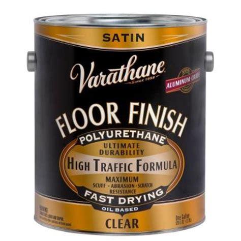 Varathane Floor Finish by Varathane 1 Gal Clear Satin 275 Voc Based Floor