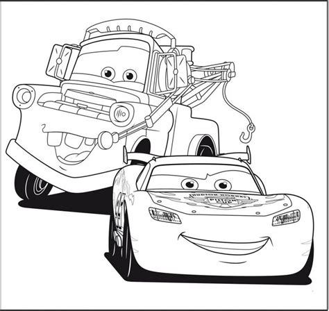 printable lightning mcqueen coloring pages  large