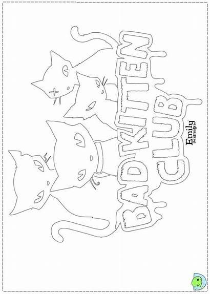 Coloring Strange Emily Pages Dinokids Close Sabbath