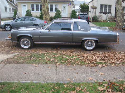 cadillac two door cadillac fleetwood brougham coupe 2 door