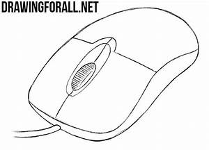 How to Draw a Computer Mouse | Drawingforall.net
