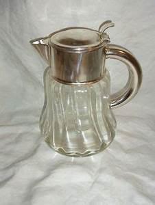 Karaffe Mit Einsatz : vintage kalte ente krug kanne karaffe kristall glas 3 liter 2 4 kg glaskrug u40 vintage glas ~ Orissabook.com Haus und Dekorationen