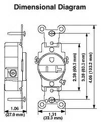 leviton 5250 15 amp 125 volt nema 5 15r 2p 3w display With 20r wiring diagram