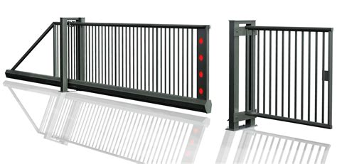 steel rack  sliding gate system