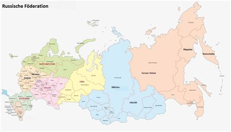 Russland-Karte - AL.EX Reiseservice