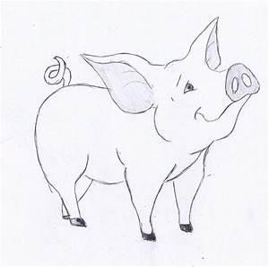 Zeichnen Lernen Mit Bleistift : ein schwein zeichnen lernen dekoking diy bastelideen dekoideen zeichnen lernen ~ Frokenaadalensverden.com Haus und Dekorationen