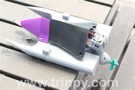 3d Printed Boat by 3d Printed Rc Stealth Boat Rc 3d Hubs Talk