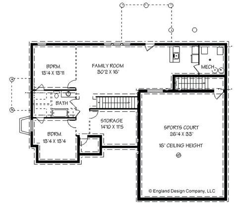4 bedroom house plans with basement 4 bedroom ranch house plans with walkout basement