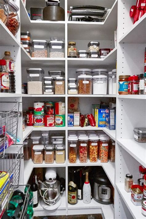 Pantry Organization Ideas: Food Storage Containers and