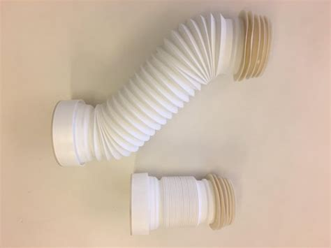 bolcom uittrekbare flexibele wc afvoer  cm wit