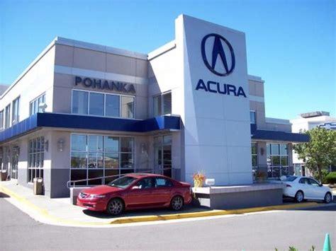 Pohanka Acura Reviews by Pohanka Acura Chantilly Virginia Va Localdatabase