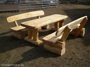 Gartenmöbel Holz Massiv : gartenm bel aus holz rustikal ~ Indierocktalk.com Haus und Dekorationen