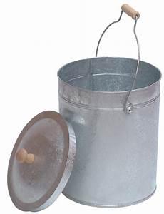 Seau En Metal : seau grains ou cendres tom press ~ Teatrodelosmanantiales.com Idées de Décoration