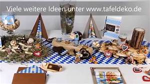 Tischdeko Geburtstag Rustikal : bayrische tischdeko ideen oktoberfest youtube ~ Watch28wear.com Haus und Dekorationen
