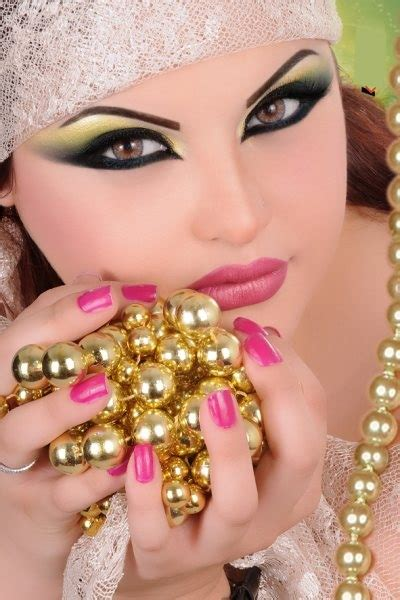 Arabic makeup tutorials and pictures   yve style.com