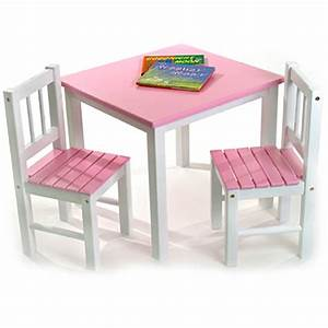 Kids Wood Table and Chair Set 5 - Homeideasblog com