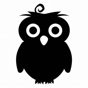 Owl silhouette - Transparent PNG & SVG vector