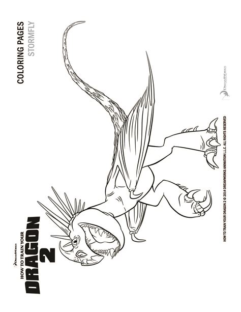 Dragon Rider Free Coloring Pages