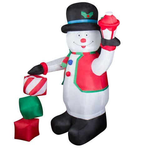 schneemann aufblasbar beleuchtet led schneemann beleuchtet aufblasbar weihnachtsfigur deko au 223 en beleuchtung ebay