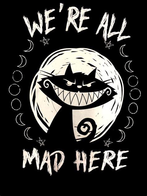 We're All Mad Here Tshirt Womens Fit  Applejack Edinburgh