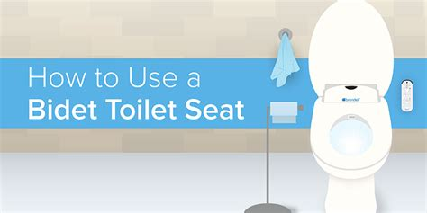 Bidet Use by How Do You Use A Bidet Toilet Seat Brondell