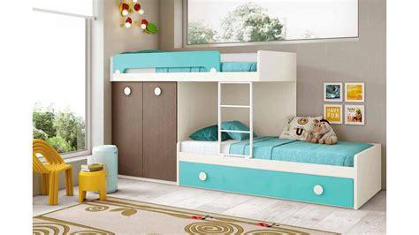 lit superposé avec lit superposé enfant avec lit gigogne glicerio so nuit