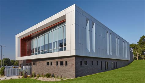 Architects Design Contemporary Police Station With Cei