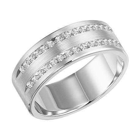 Frederick Goldman Diamond Wedding Band