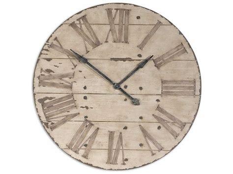 Uttermost Harrington 36 Inch Wooden Wall Clock