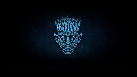night king minimalist logo   hd