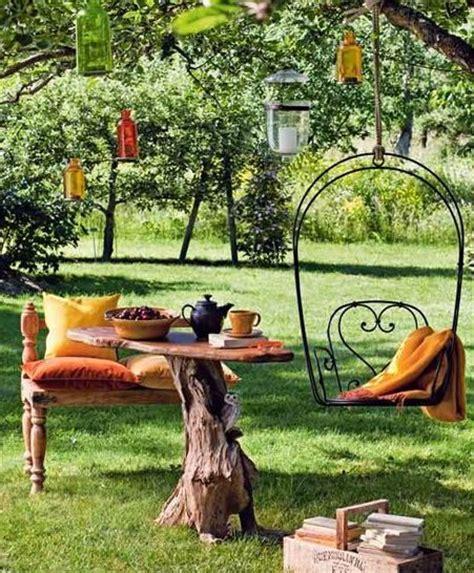 Gartendeko Ideen Mit Haengesessel Und Haengematte by Gartendeko Ideen Mit H 228 Ngesessel Und H 228 Ngematte Freshouse