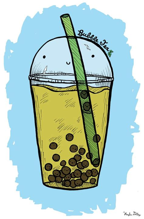 Browse the user profile and get inspired. Bubble Tea...yummy. | Tea art, Bubble tea, Tea cup drawing