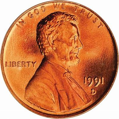 Value 1991 Lincoln Memorial Cent Coins Cents
