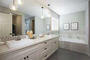 16 best images about bathrooms on pinterest powder room With pendant lights over bathroom vanity