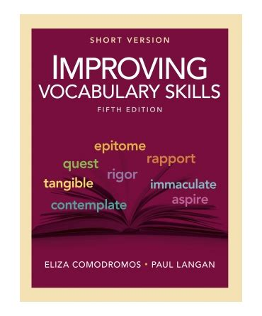 improving vocabulary skills short version  townsend