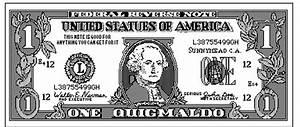 Dollar bill clip art black and white - Clip Art Library