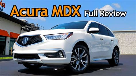 acura mdx full review  updates