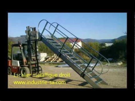 escalier m 233 tallique droit avec crosse 2012 10 tarif prix
